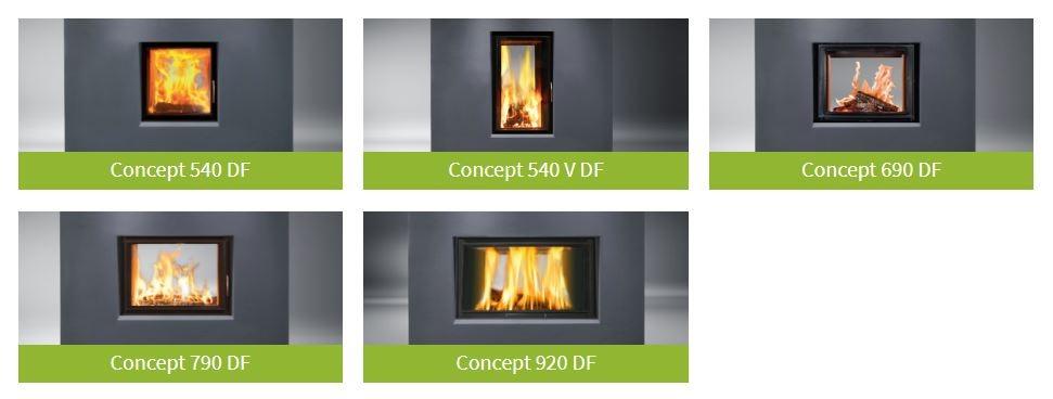 Gama de recuperadores de calor concept com dupla face