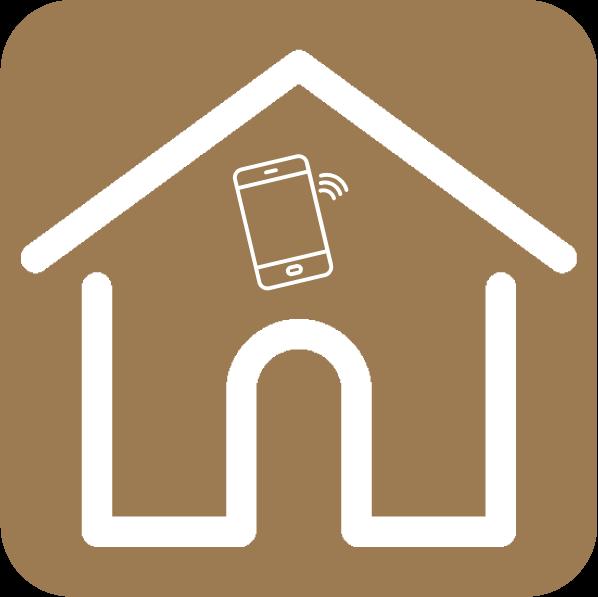 O aparelho tem a possibilidade de ser conectado ao sistema de automação residencial que realiza o controlo inteligente da casa.