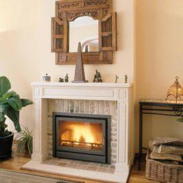 recuperador de calor a lenha BIOJAQ BG INFIRE CLASSIC 743