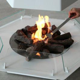 lareira de chão a bioetanol BIOJAQ BK VERTIGO