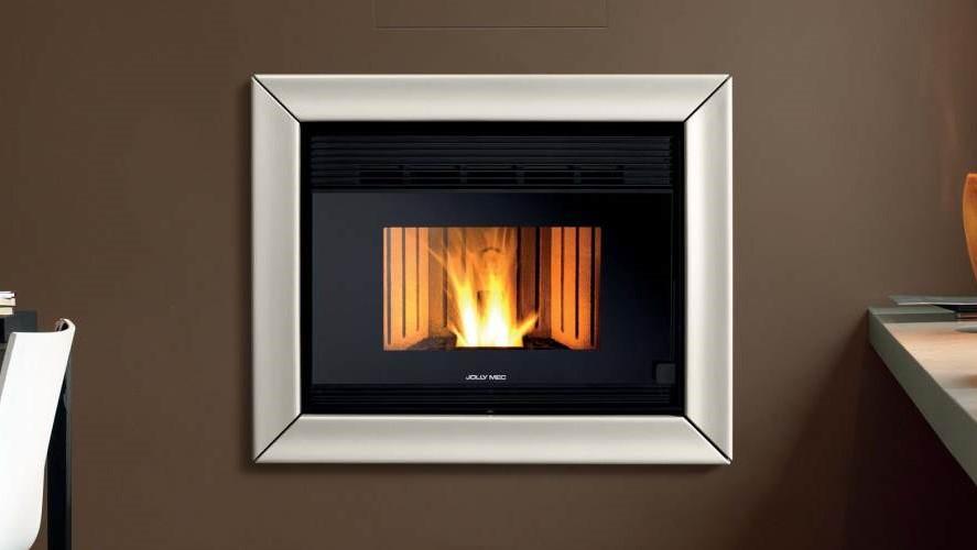 Recuperador de calor a pellets para aquecimento de ar BIOJAQ JM JOLLY SYNTHESIS