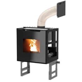 Recuperador de calor a pellets BIOJAQ JM SYNTHESIS MODULAR para aquecimento central