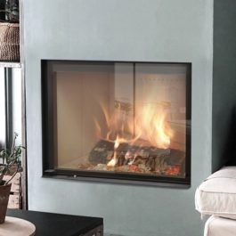 Recuperador de calor a lenha para aquecimento central BIOJAQ JM TERMOJOLLY 80 EVO