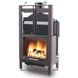 Recuperador de calor a lenha para aquecimento central BIOJAQ PZT BX-78 VASO FECHADO