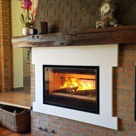 recuperador de calor a lenha BIOJAQ BG INFIRE EASY 950