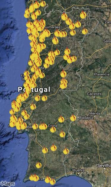 mapa de agentes biojaq
