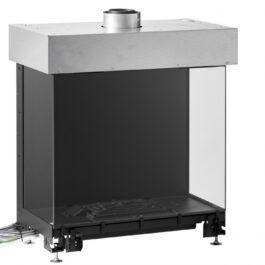 estrutura do recuperador de calor a gás BIOJAQ MF AVENUE+ de tres lados