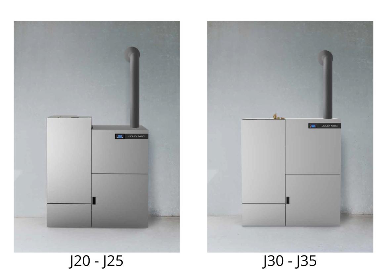 caldeiras a pellets biojaq jm j20-j25 e j30-j35
