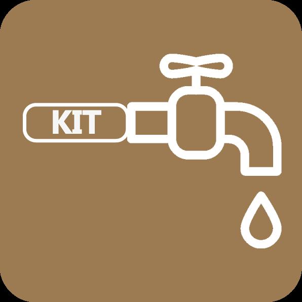 Preparado para aquecimento de água, o aparelho já vem equipado com todo o kit hidráulico necessário, de forma a facilitar a instalação do equipamento.