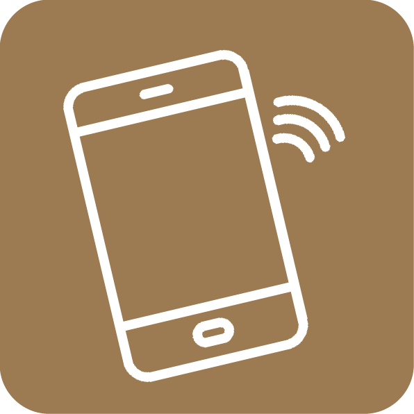 Através de uma aplicação para smartphone ou tablet, pode ser feita a gestão do equipamento e de todos os seus parâmetros.