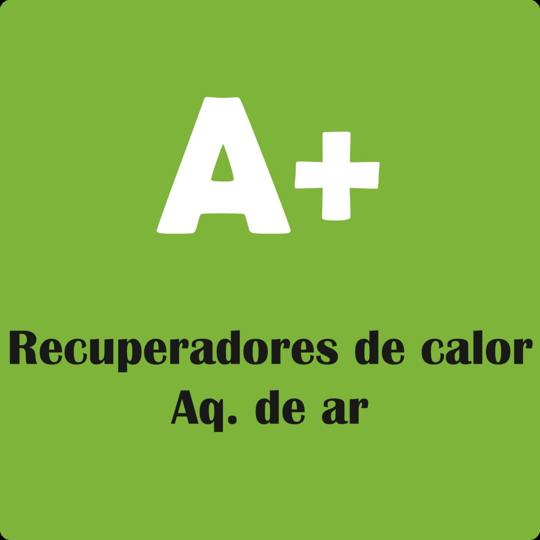 recuperadores de calor para aquecimento de ar com classificação A+