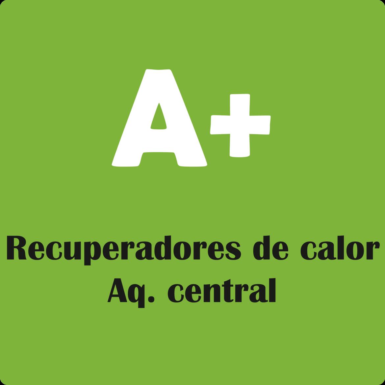 recuperadores de calor para aquecimento central com classificação A+